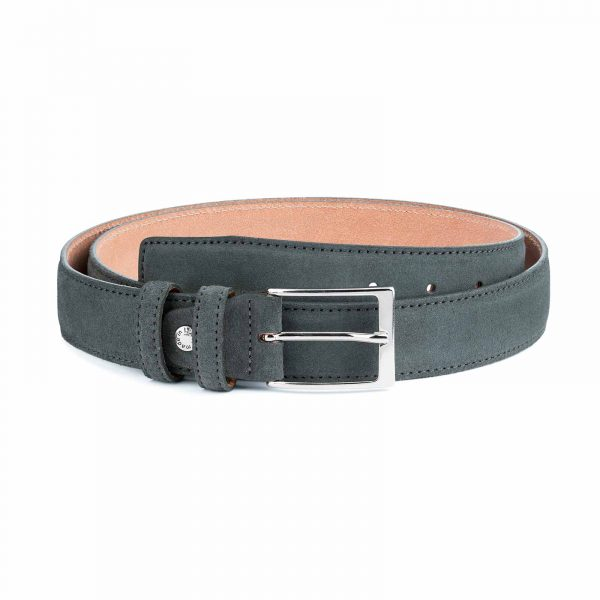 Gray-Suede-Belt-Mens-by-Capo-Pelle