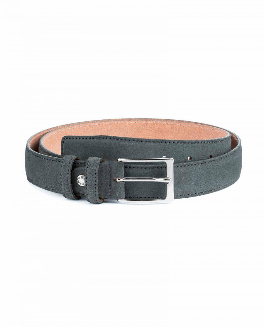 Gray-Suede-Belt-Mens-by-Capo-Pelle