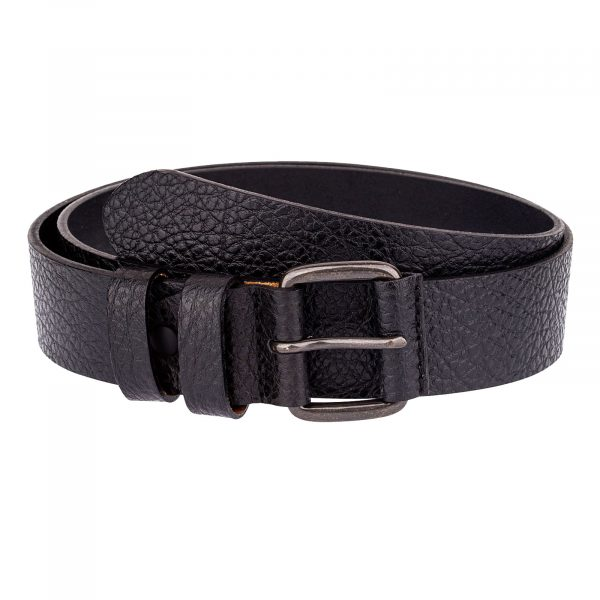 Heavy-Duty-Belt-Black-Cowhide-Front-image