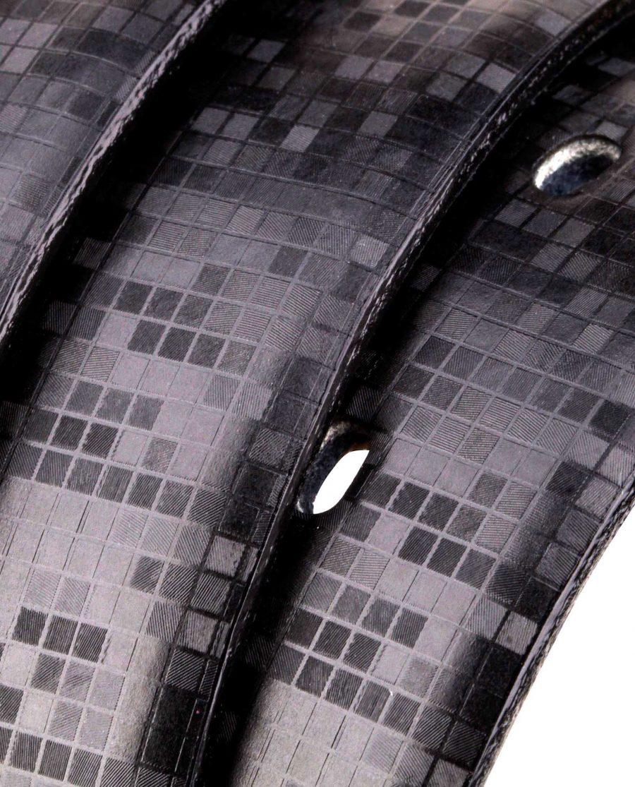 Hologram-Leather-Belt-Rolled-strap