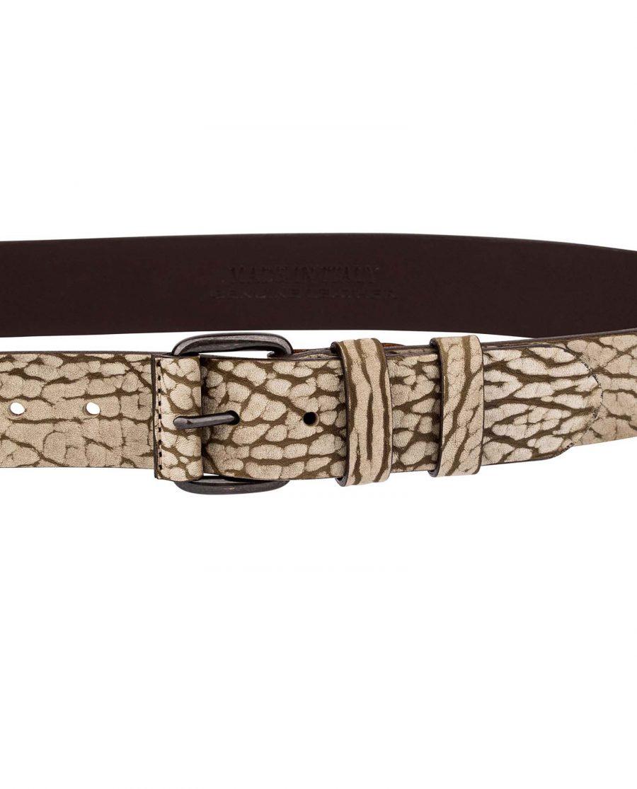 Khaki-Thick-Leather-Belt-On-pants