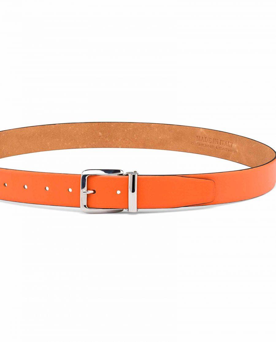 Ladies-Orange-Belt-On-pants