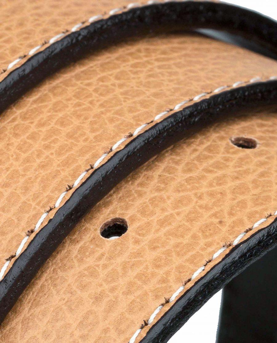 Light-Beige-H-Belt-Strap-31mm-Rolled-image