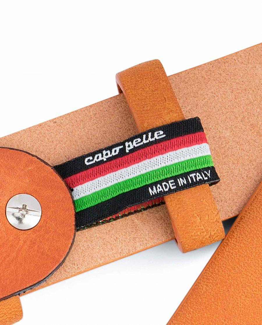 Light-Brown-Western-Belt-Mens-Veg-Tan-Leather-Belt-loop-holder