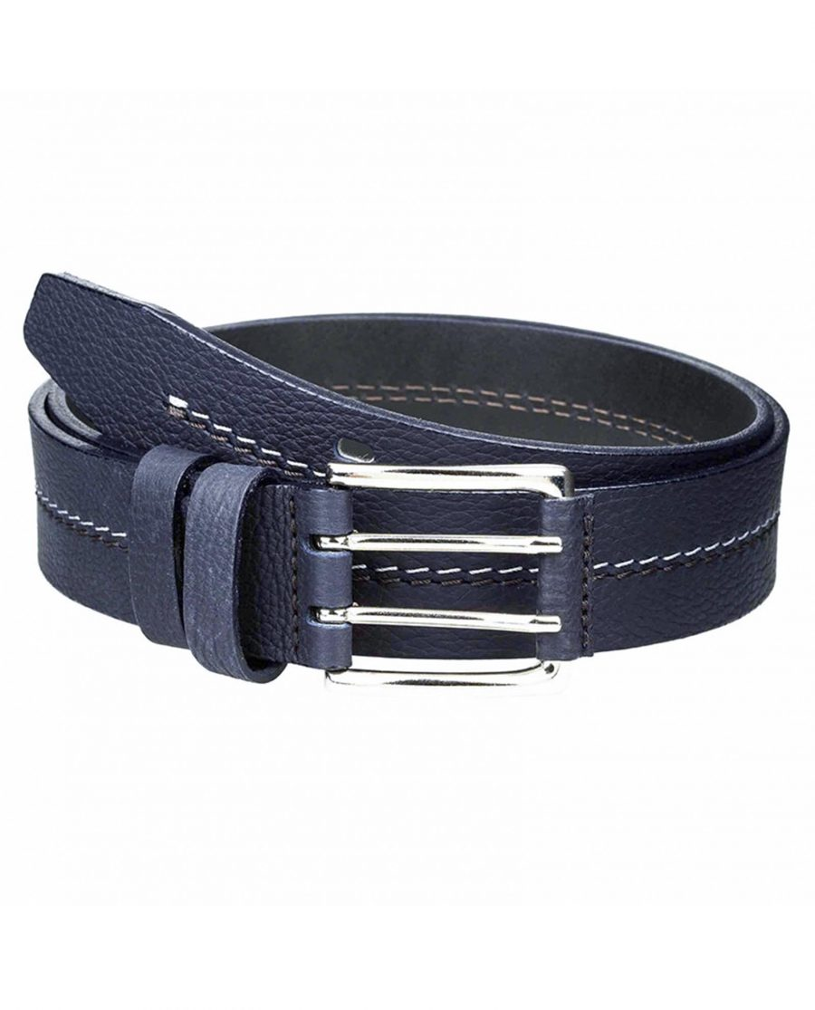 Luxury-navy-jeans-belt