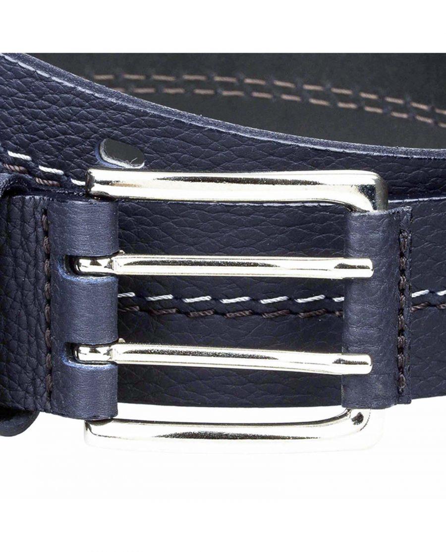 Luxury-navy-jeans-belt-buckle