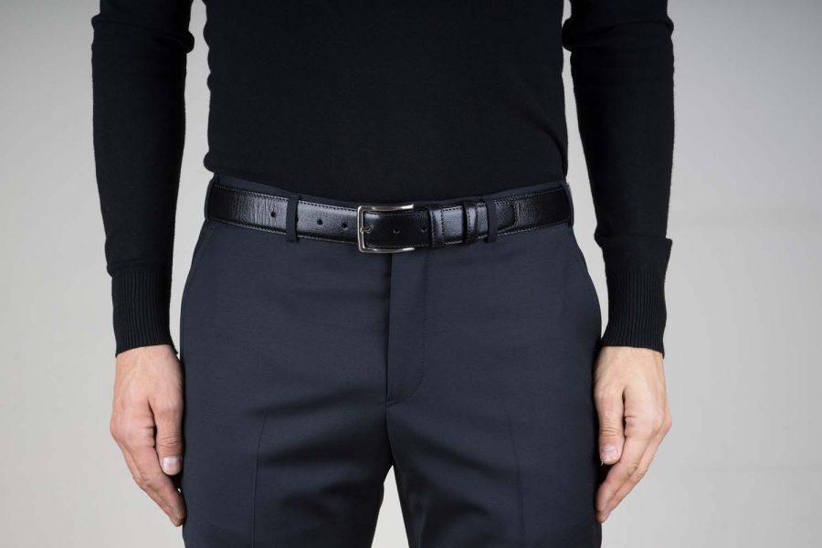 Mens-Black-Leather-Belt-Live-on-Pants