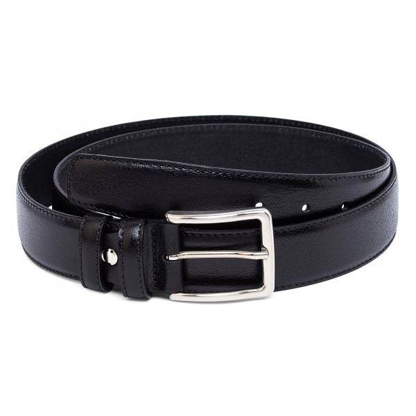 Mens-Black-Leather-Belt-first-picture