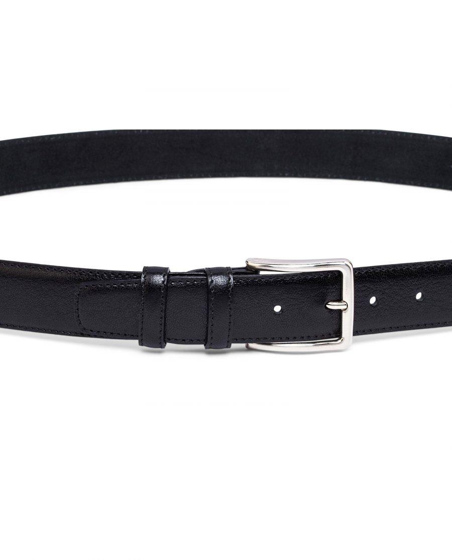 Mens-Black-Leather-Belt-on-pants