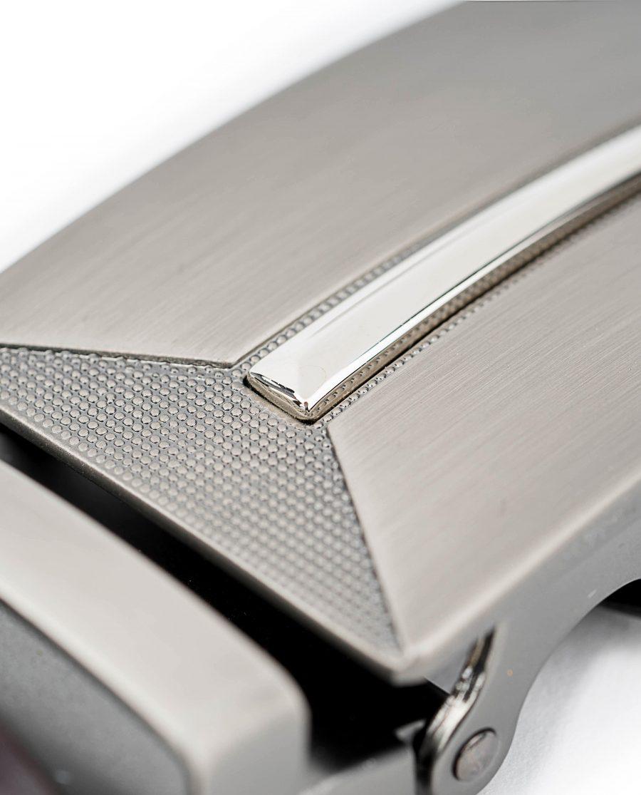 Mens-Brown-Leather-Ratchet-Belt-Gunmetal-Automatic-Buckle-By-Capo-Pelle-Close-design-1