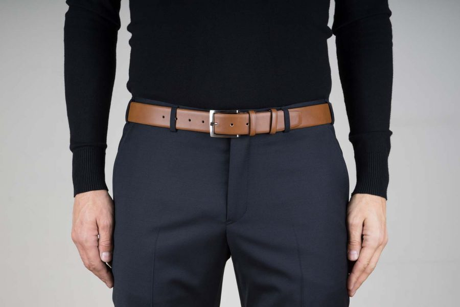 Mens-Brown-Nappa-Leather-Belt-Live-on-Pants