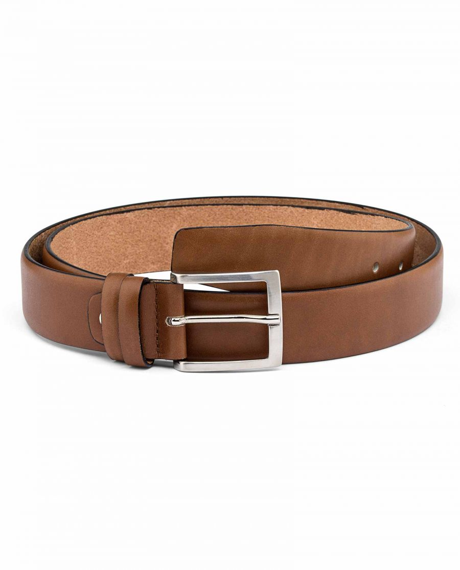 Mens-Brown-Nappa-Leather-Belt-Main-picture