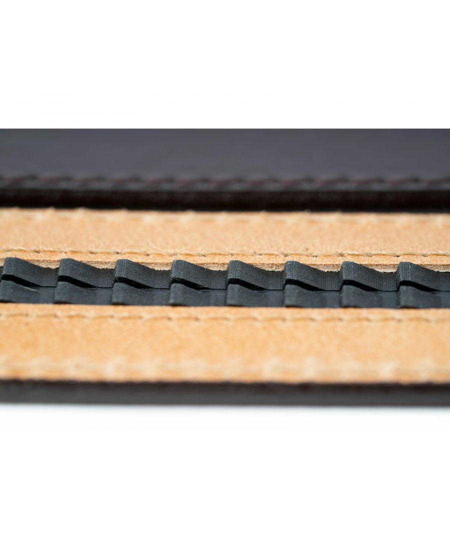Mens-Brown-Ratchet-Leather-Belt-System