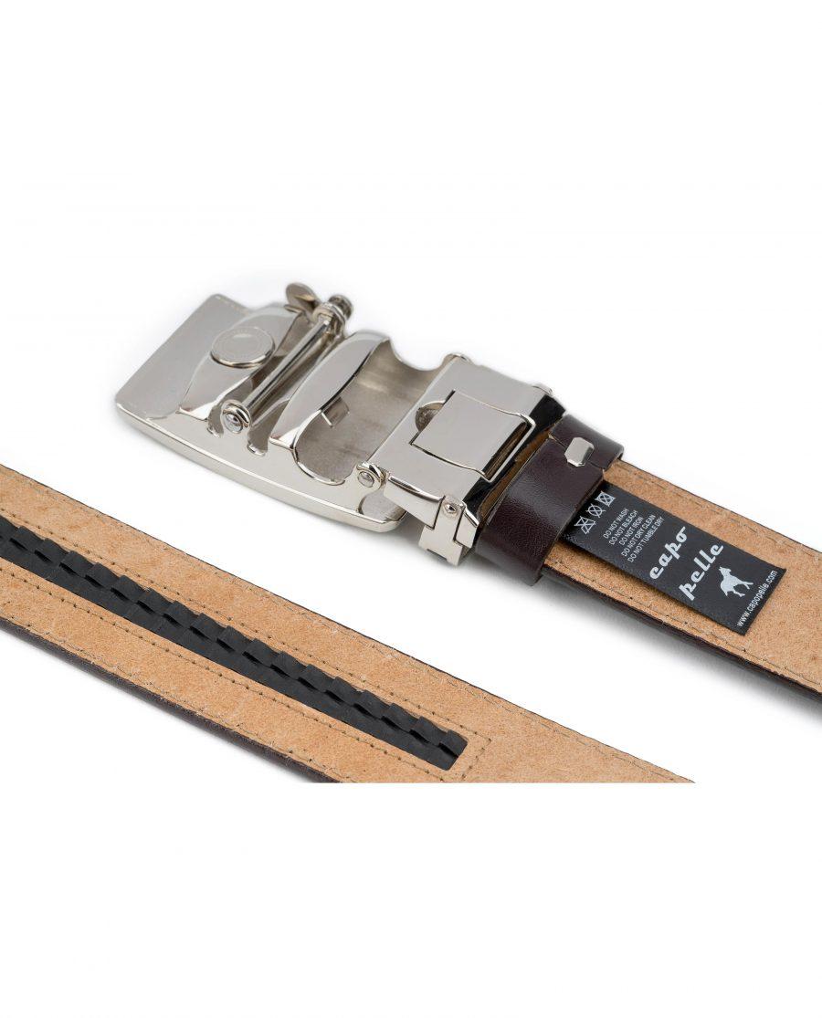 Mens-Brown-Ratchet-Leather-Belt-System-Tag-Reverse