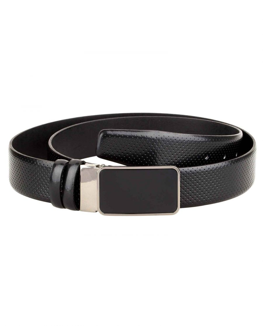 Mens-Golf-Belt-Perforated-Leather-Main-image