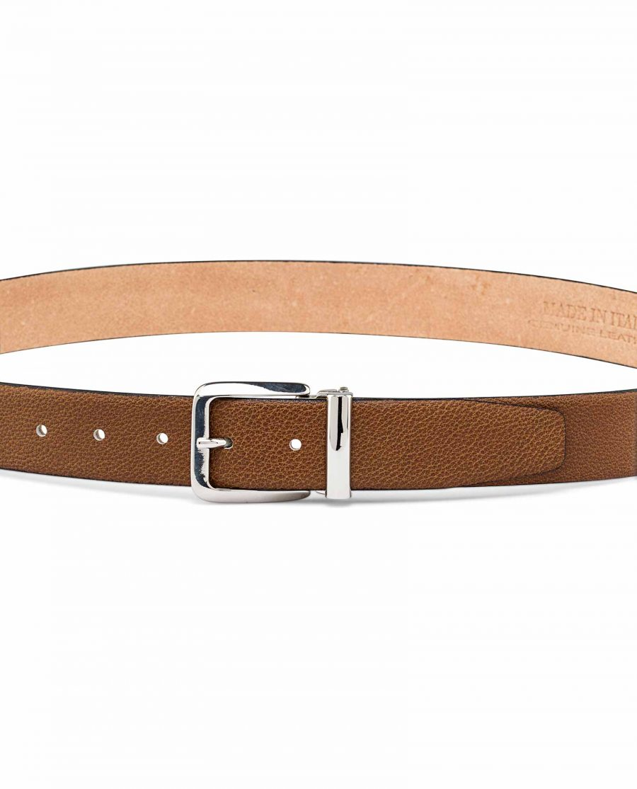 Mens-Handmade-Leather-Belt-On-trousers