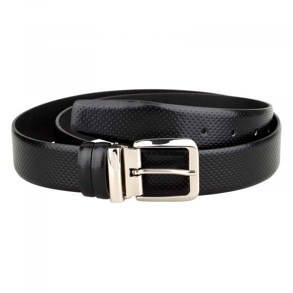 Mens-Perforated-Belt-Italian-Buckle-Main-picture