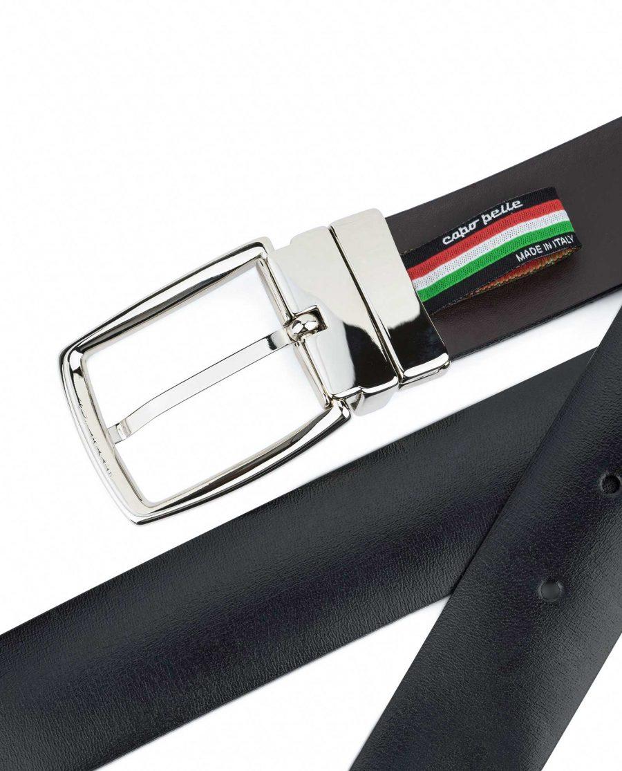 Mens-Reversible-Swivel-Buckle-Belt-Capo-Pelle-Back-side
