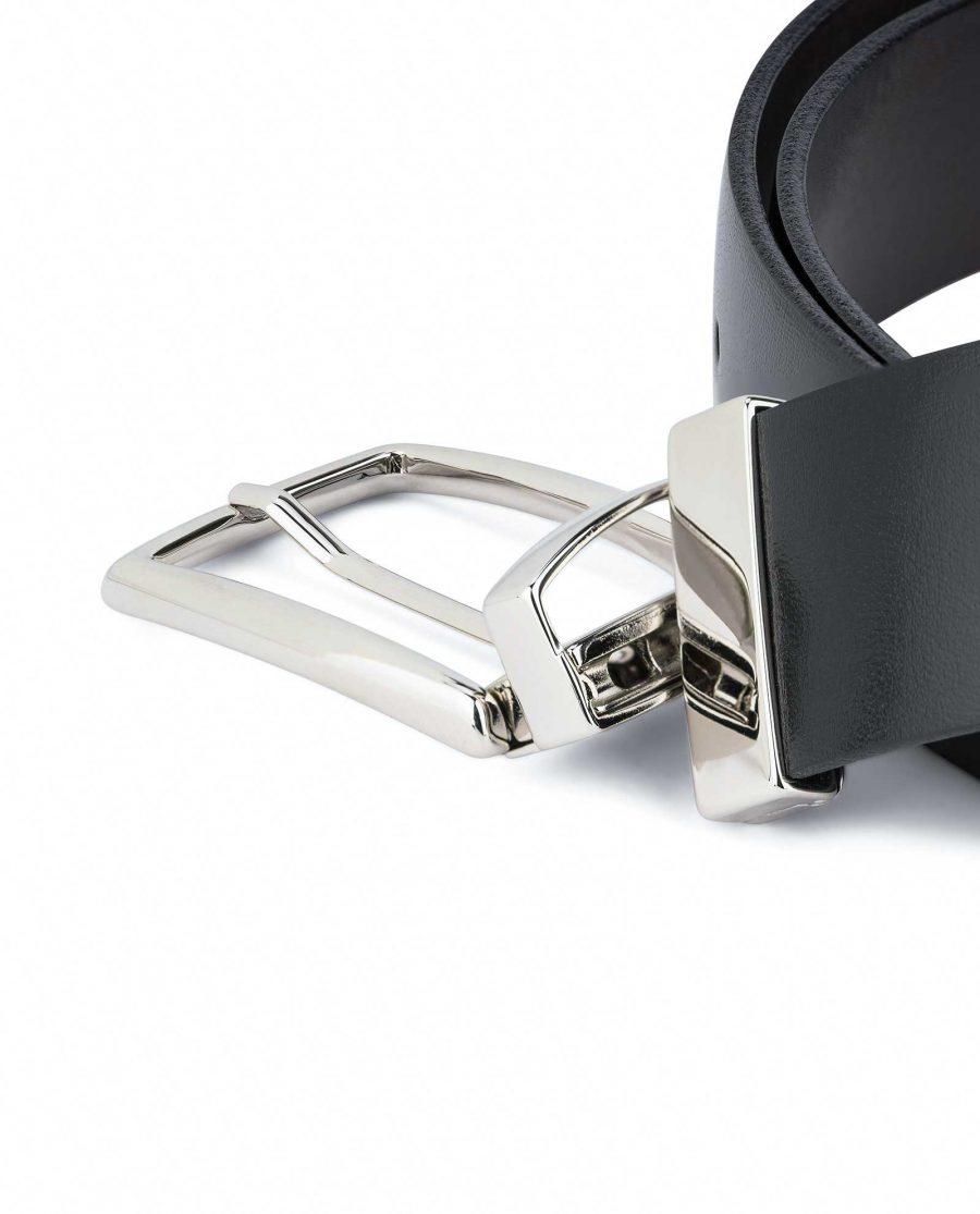 Mens-Reversible-Swivel-Buckle-Belt-Capo-Pelle-Mechanism
