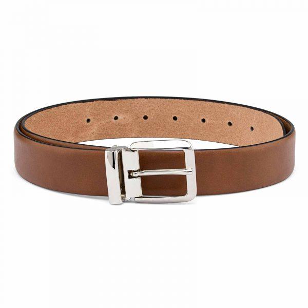 Mens-Tan-Dress-Belt-Italian-buckle