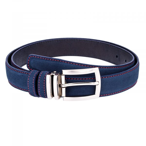 Narrow-Blue-Suede-Belt-First-picture