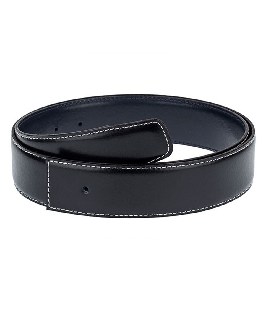 Navy-Reversible-Thick-Belt-Strap-Front-picture