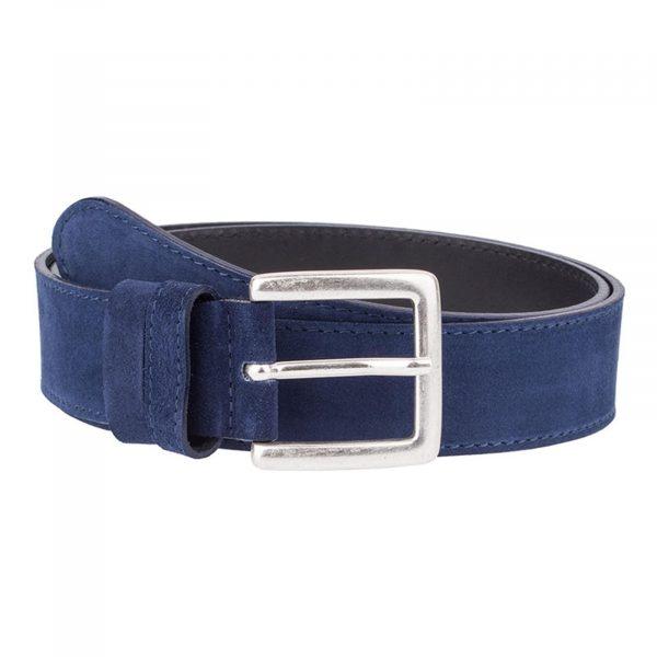 Navy-Suede-Classic-Belt-Front-Version
