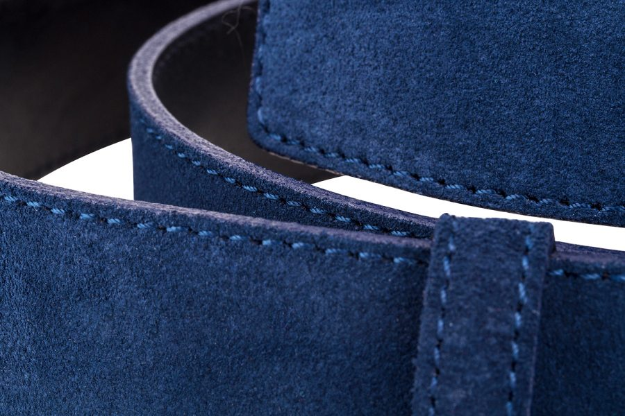 Navy-Suede-Leather-Strap-Close-image