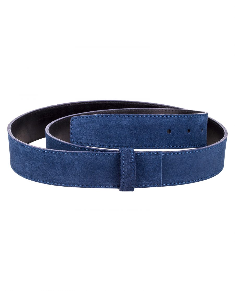 Navy-Suede-Leather-Strap-Main-picture