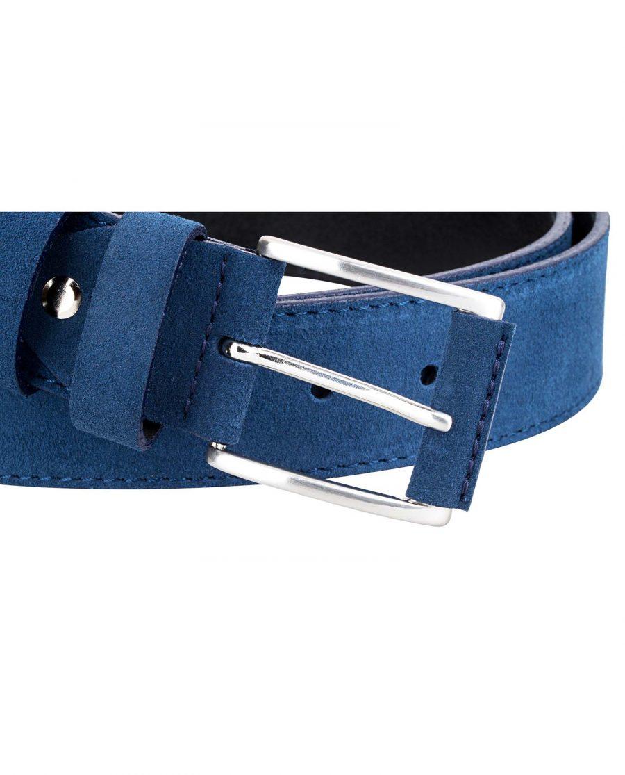 Navy-Suede-Luxury-Belt-Buckle-image
