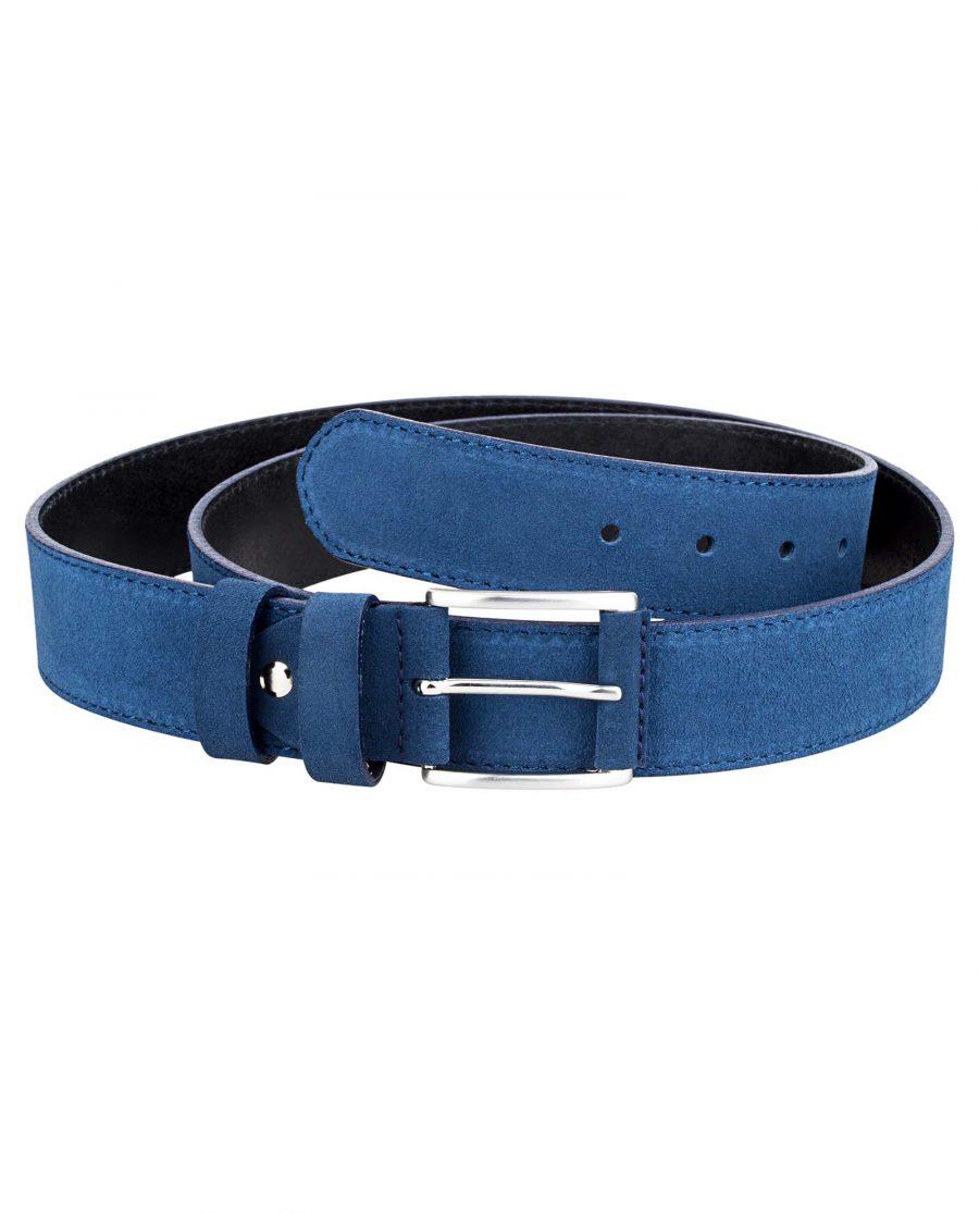 Navy-Suede-Luxury-Belt-Front-Image