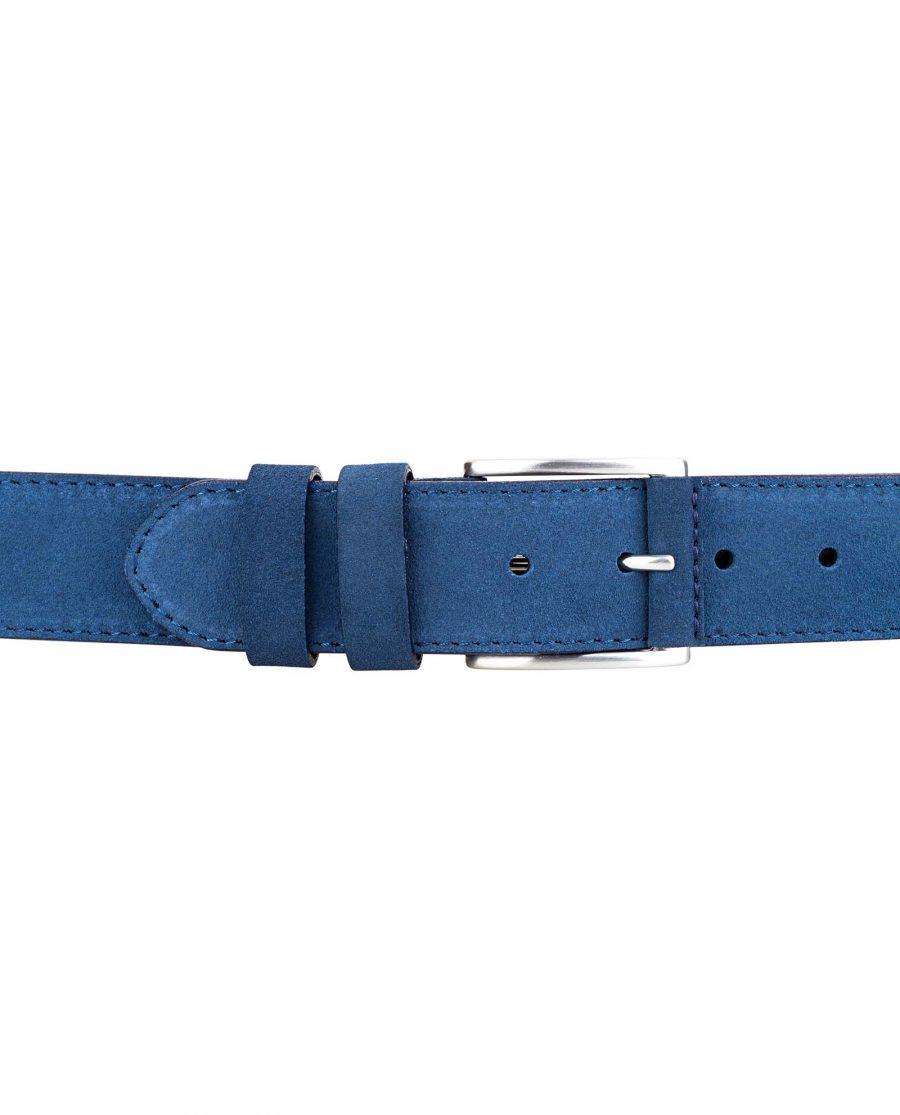 Navy-Suede-Luxury-Belt-Front-Image-On-pants