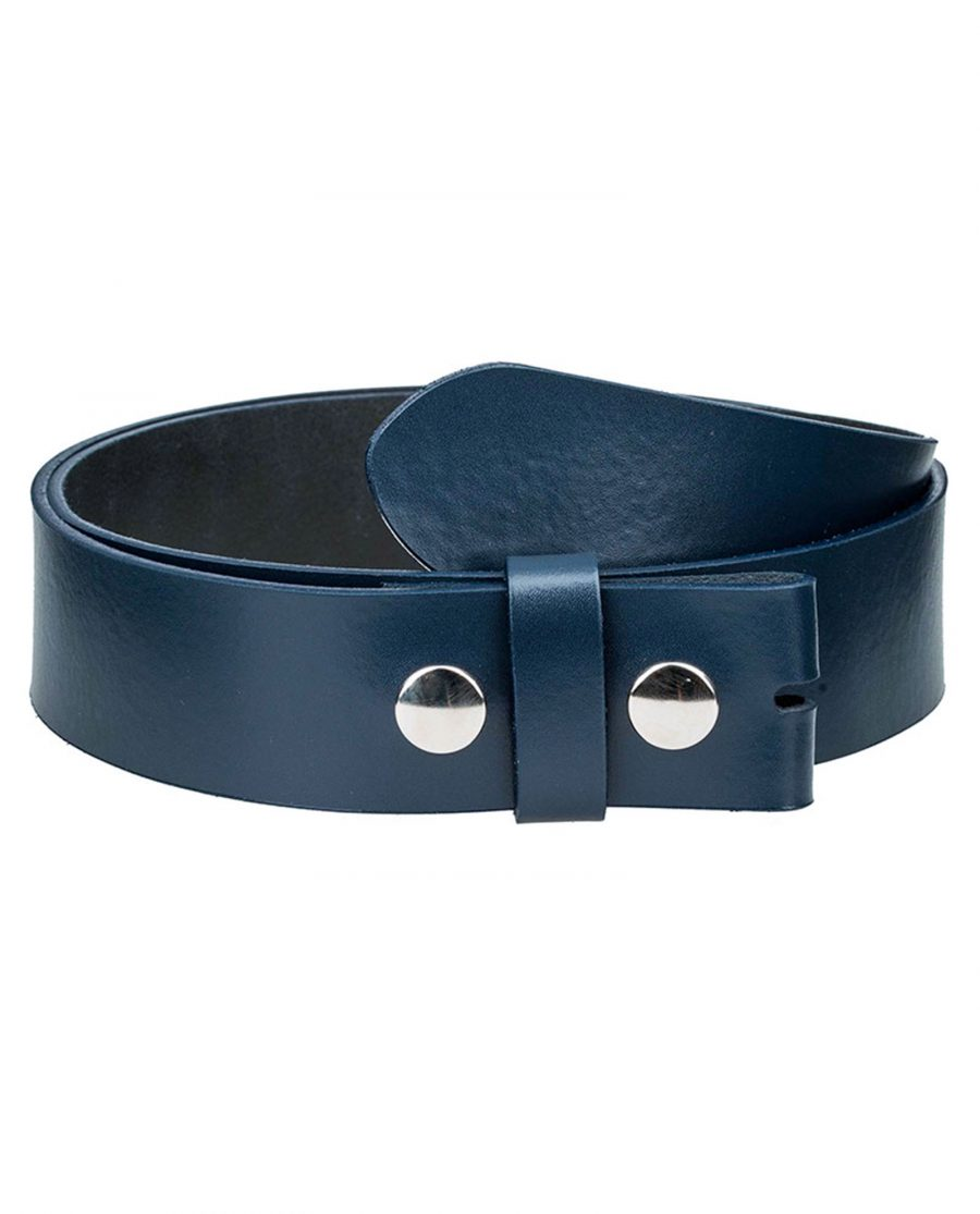 Navy-snap-on-belt-strap