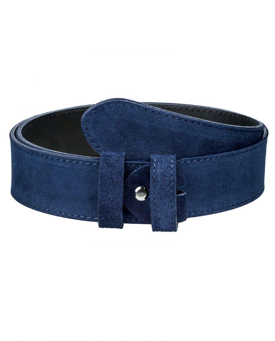 Navy-suede-belt-strap-wide