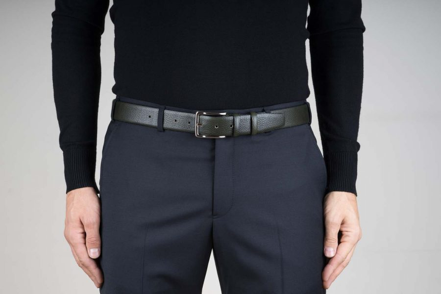 Olive-Green-Leather-Belt-by-Capo-Pelle-Live-on-Pants