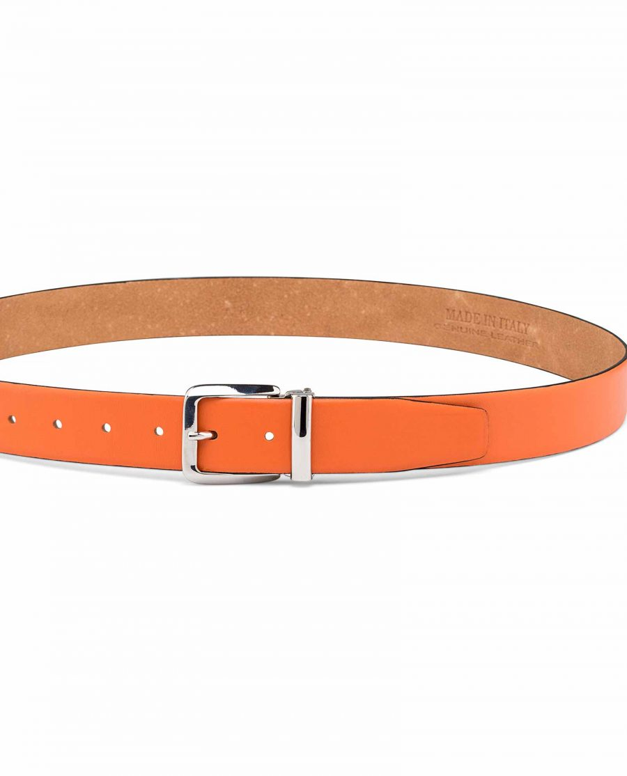 Pale-Ladies-Orange-Belt-for-Jeans-On-pants