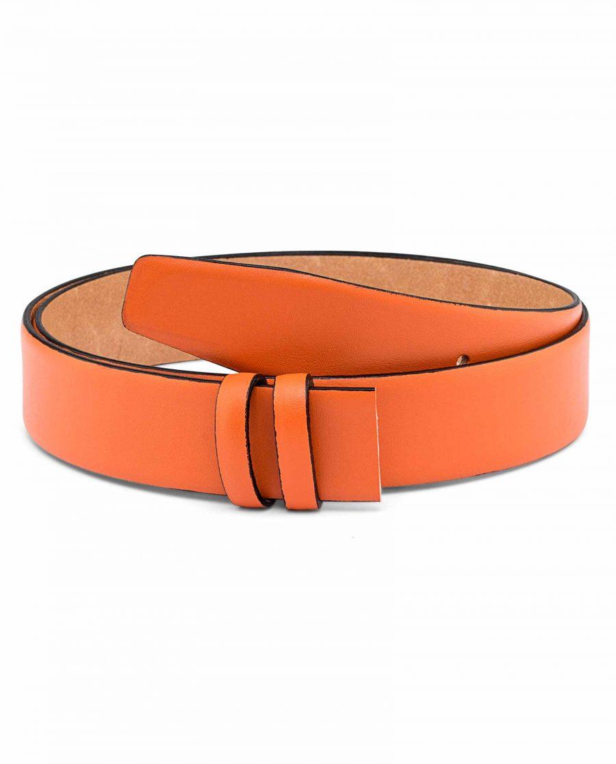 Pale-Orange-Belt-Strap-Main-picture