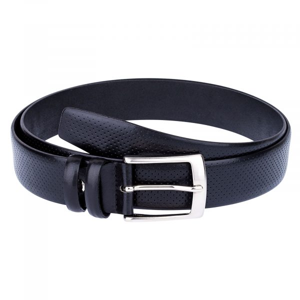 Perforated-Black-Golf-Belt-Main-picture