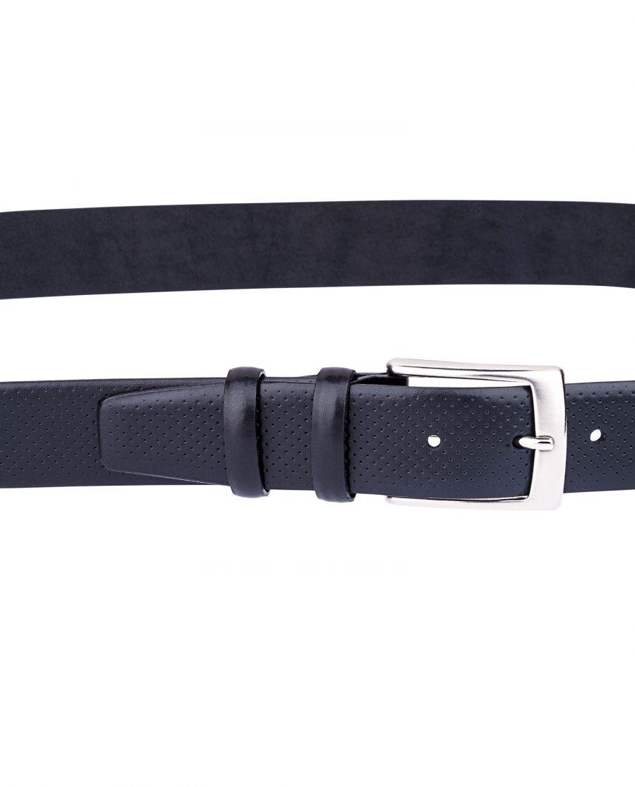 Perforated-Black-Golf-Belt-On-pants