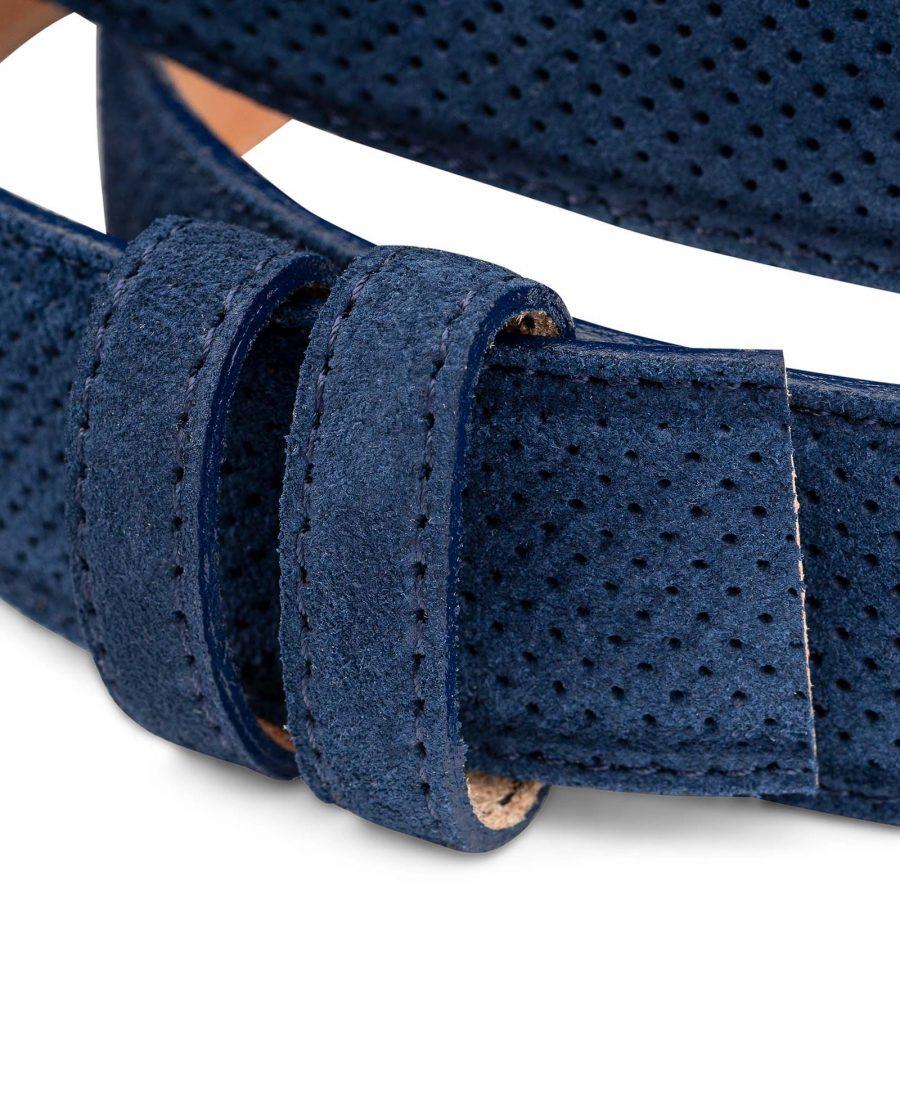 Perforated-Blue-Suede-Belt-Strap-1-3-8-inch-Wide-For-Men-Belt-holders-1