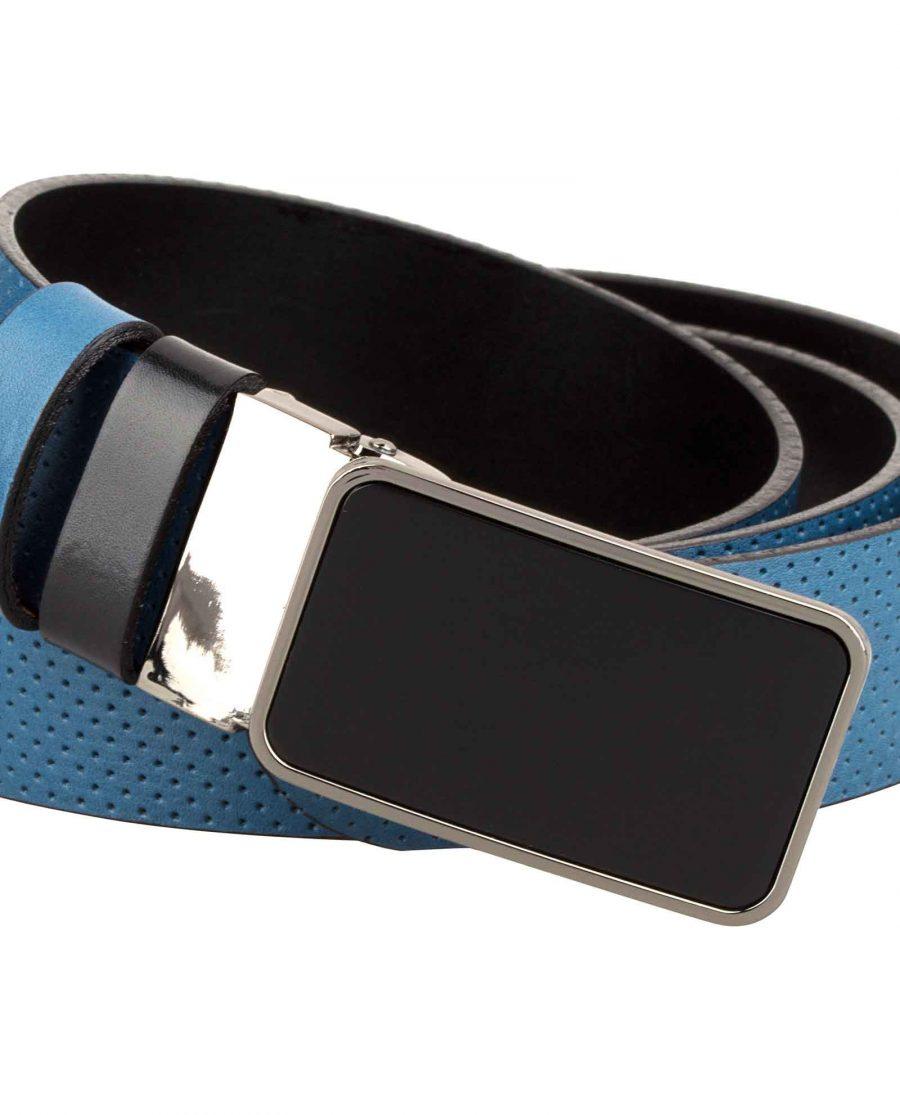 Perforated-Golf-Belt-for-Men-Buckle-image