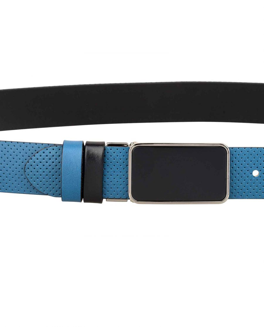 Perforated-Golf-Belt-for-Men-On-jeans