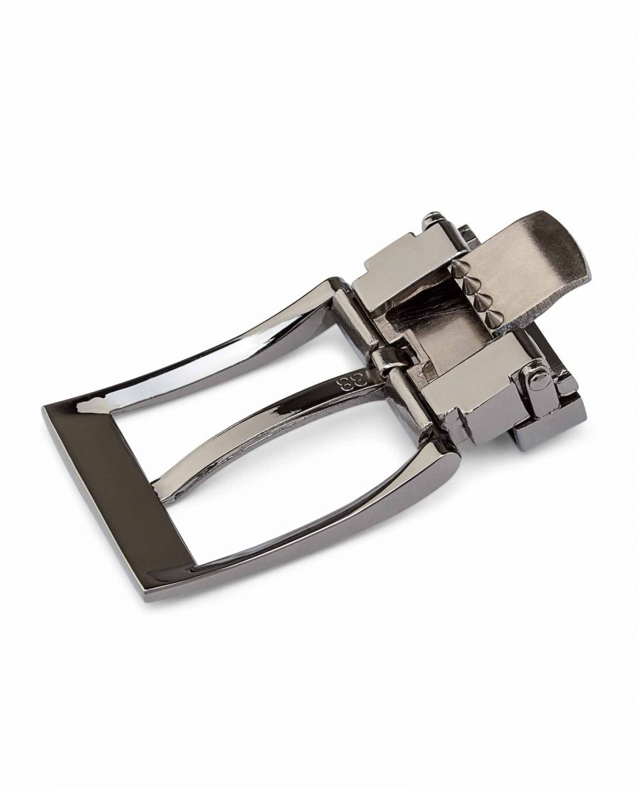 Polished-Gunmetal-Belt-Buckle-Clamp-mechanism