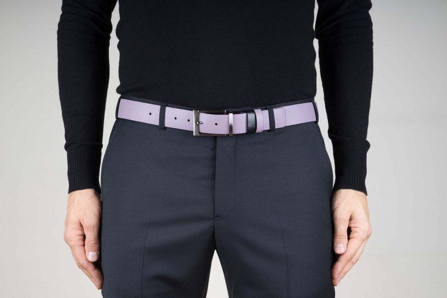 Purple-Belt-Reversible-Black-Live-on-Pants