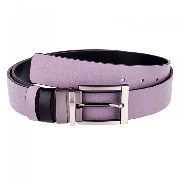 Purple-Belt-Reversible-leather-First-picture