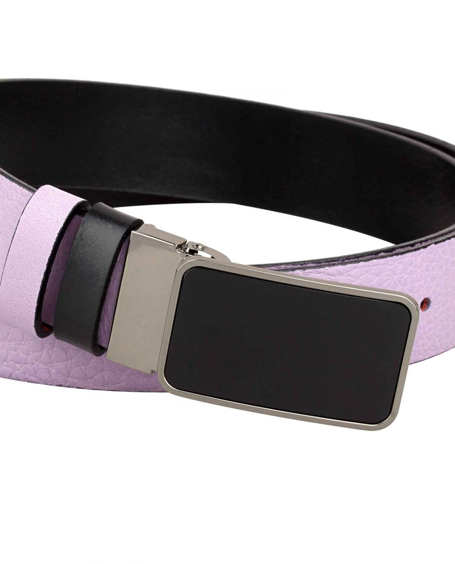 Purple-Designer-Belt-Buckle-close