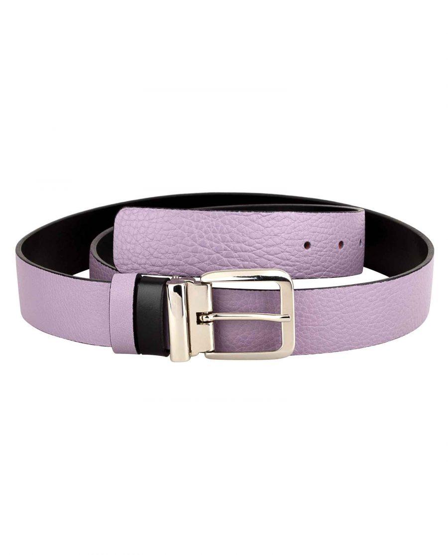 Purple-Designer-Belt-Italian-Buckle-Main-picture