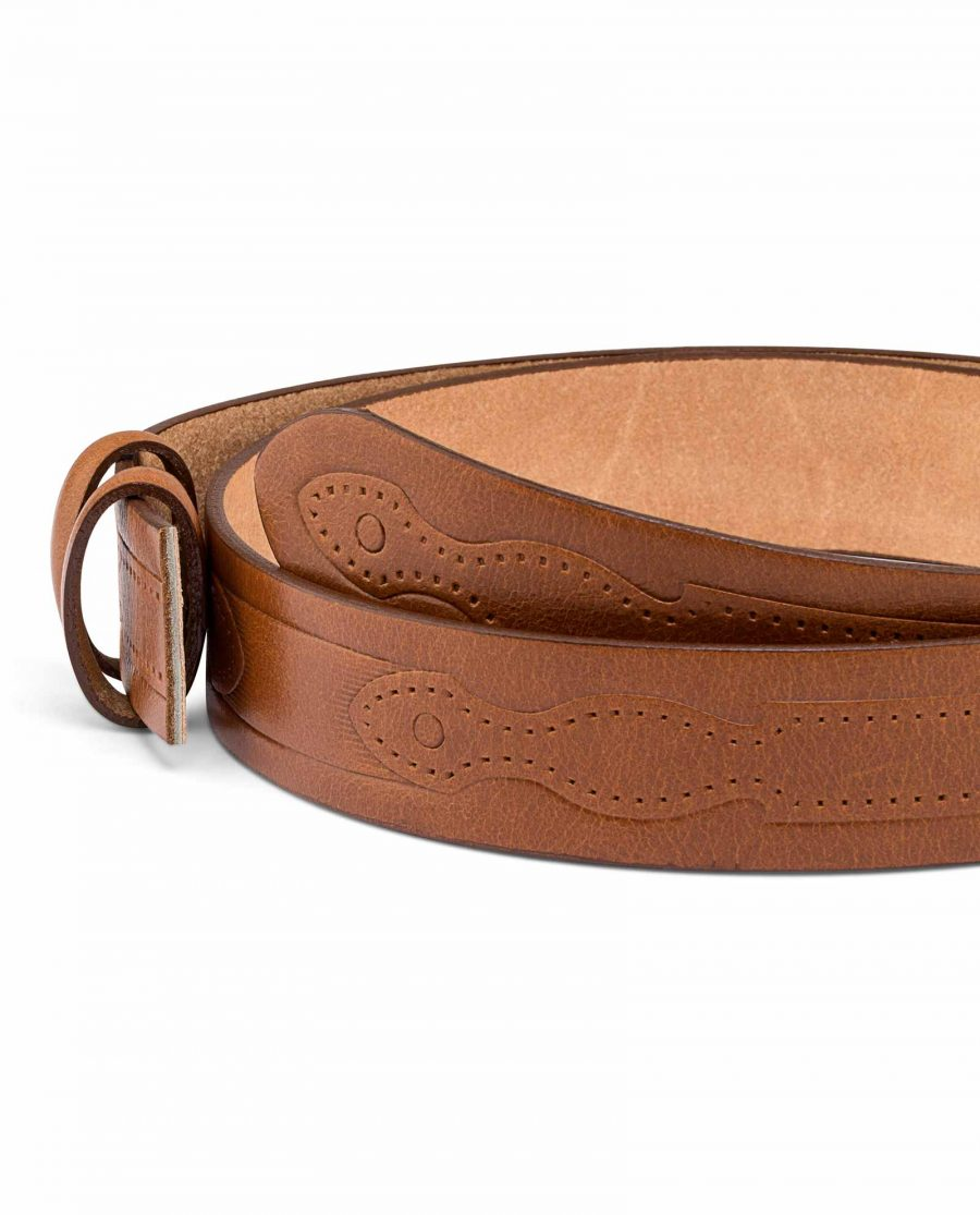 Rancho-Mens-Embossed-Belt-Strap-Buckle-mount
