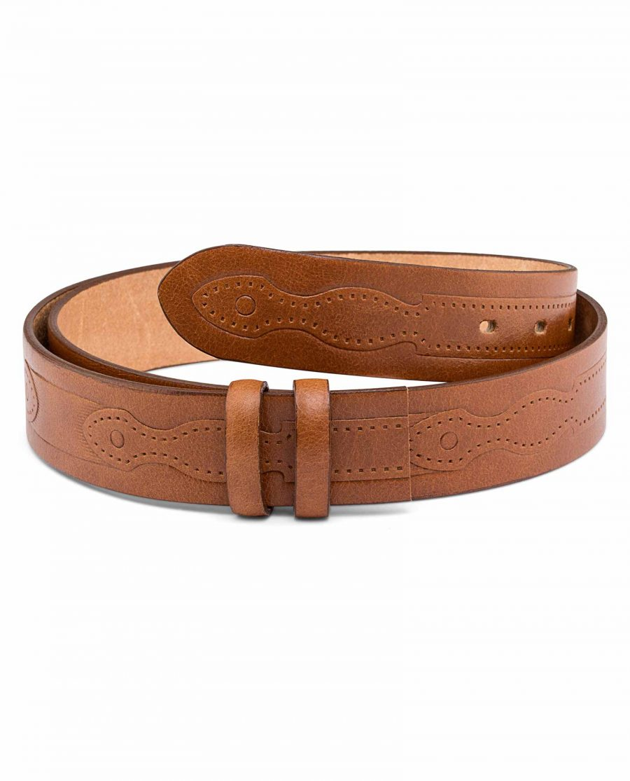 Rancho-Mens-Embossed-Belt-Strap-Main-icture