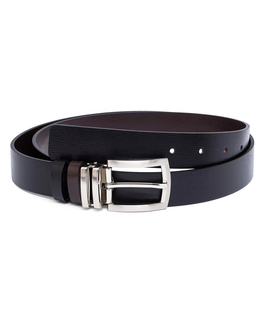 Real-Leather-Belt-Reversible-First-image